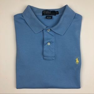 Polo By Ralph Lauren Light Blue Polo Size M
